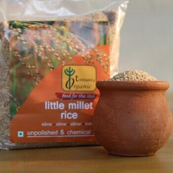 Little Millet Rice 500 Gms-Timbaktu