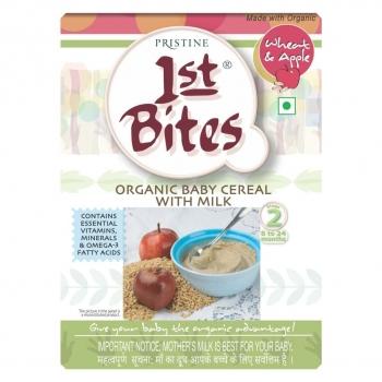 1st Bites Wheat and Apple 375 Gms-Prestine