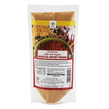 Mixed Dal Chutney Powder 150 Gms-Arya