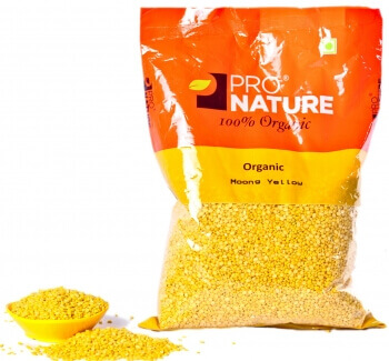 Moong Yellow 500 Gms-Pro Nature