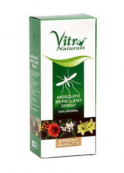 Mosquito Repellent Spray 120 Ml-Vitro Naturals