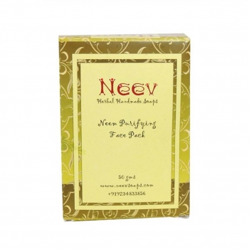Neem Purifying Face Pack 50 Gms-Neev Herbal