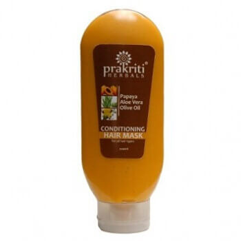 Papaya Hair Mask 200 Ml-Prakriti Herbals