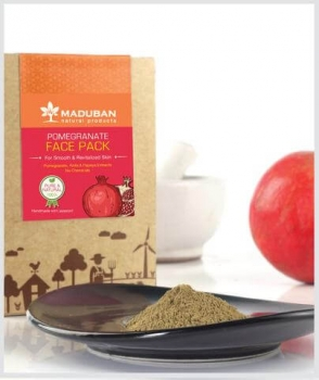 Pomegranate Face Pack 100 Gms-Maduban