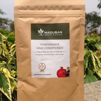 Pomegranate Hair Conditioner 100 Gms-Maduban