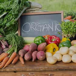 Organic Fruits & Vegetables
