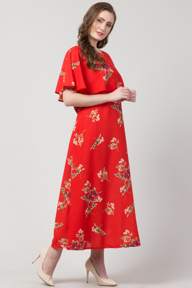 Red Gown Dress