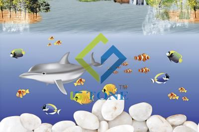 Glossy Fish WallTile 12x18 - 7007 HL2(233)