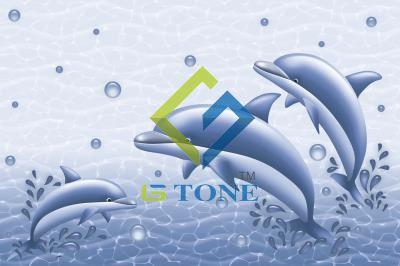 Glossy Fish WallTile 12x18 - 7011 HL1(234)