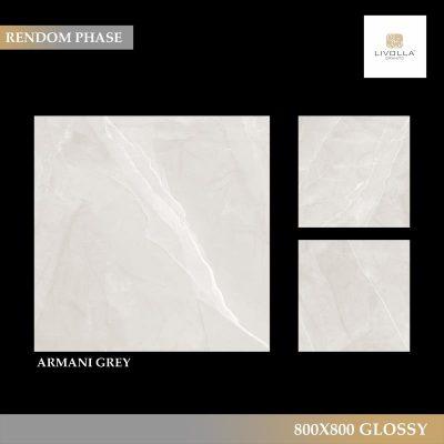 800x800 Glossy ARMANI GREY