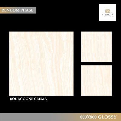 800x800 Glossy BOURGOGNE CREMA