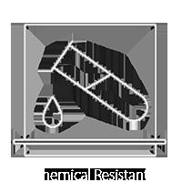 Chemical Resistant Slab Vitrifiled Tiles