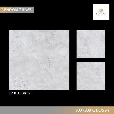 800x800 Glossy EARTH GREY
