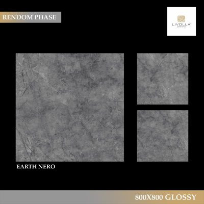 800x800 Glossy EARTH NERO