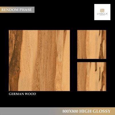 800x800 High Glossy GERMAN WOOD