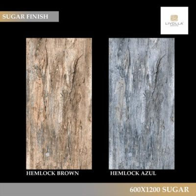 HEMLOCK BROWN AND AZUL