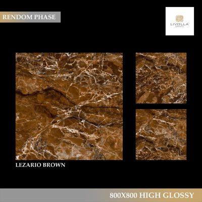 800x800 High Glossy LEZARIO BROWN