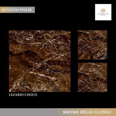 800x800 High Glossy LEZARIO CHOCO