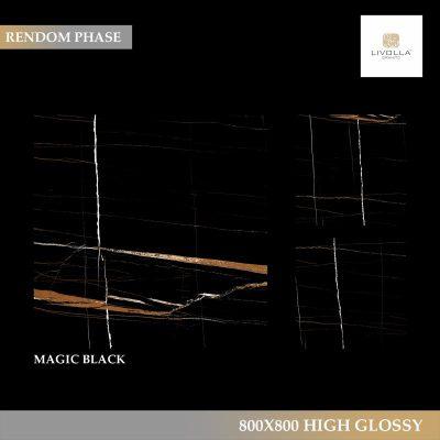800x800 High Glossy MAGIC BLACK