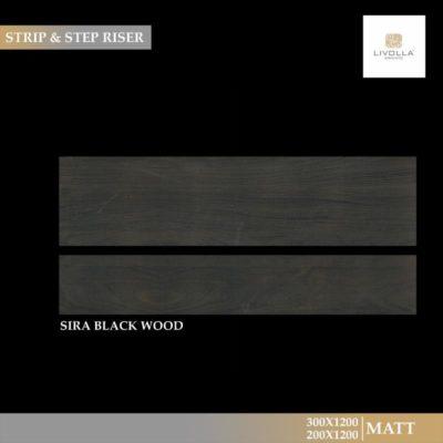 SIRA BLACK WOOD