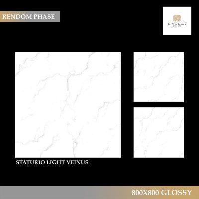 800x800 Glossy STATURIO LIGHT VEINUS