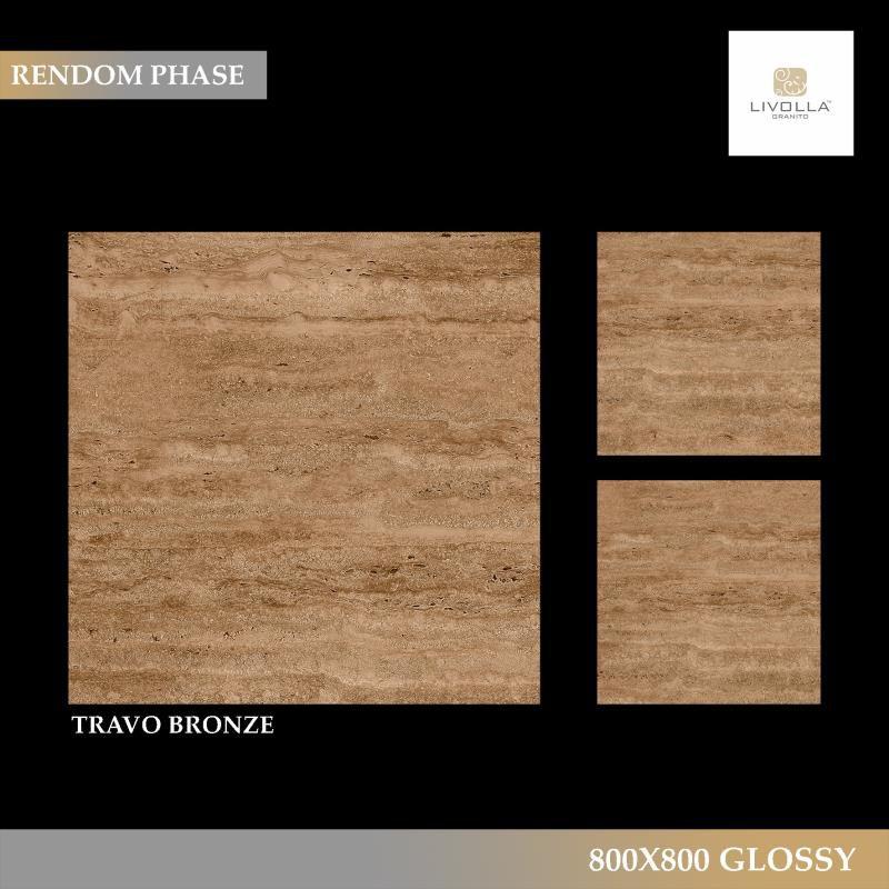 800x800 Glossy TRAVO BRONZE