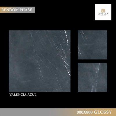 800x800 Glossy VALENCIA AZUL