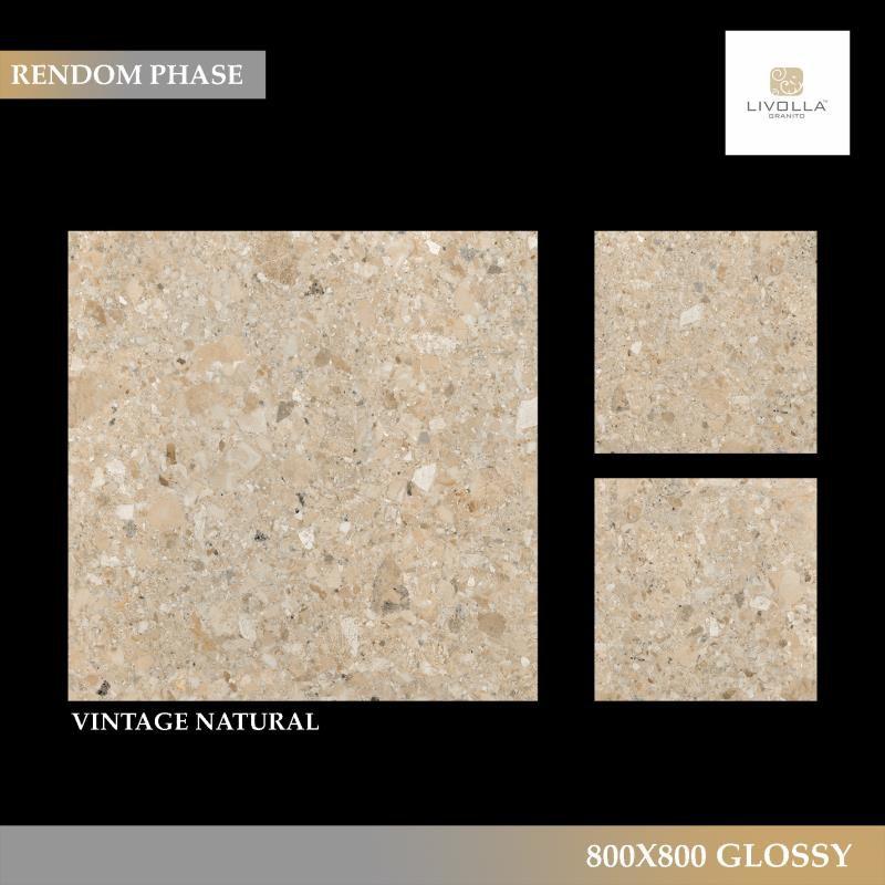 800x800 Glossy VINTAGE NATURAL