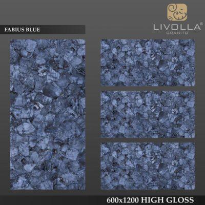 FABIUS BLUE - 600x1200(60x120) HIGH GLOSSY PORCELAIN TILE