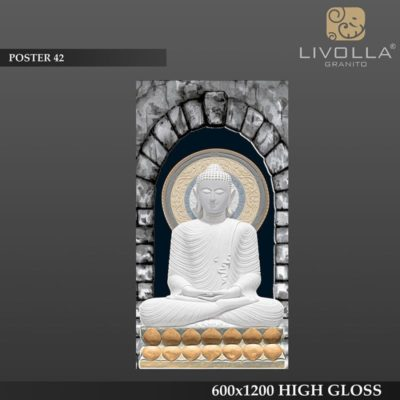 POSTER 42 - 600x1200(60x120) HIGH GLOSSY PORCELAIN TILE