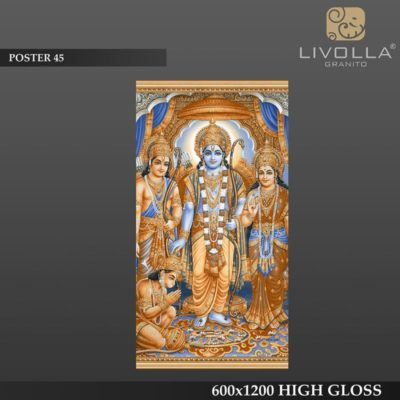 POSTER 45 - 600x1200(60x120) HIGH GLOSSY PORCELAIN TILE