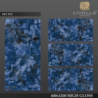 SKY ICE - 600x1200(60x120) HIGH GLOSSY PORCELAIN TILE