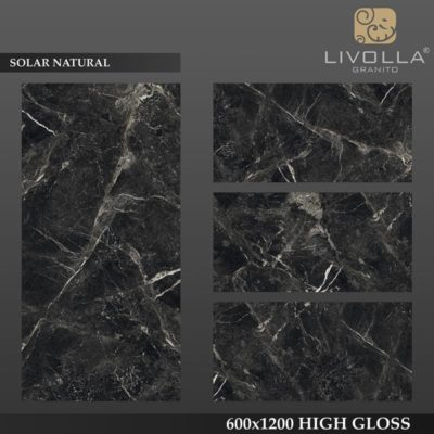 SOLAR NATURAL - 600x1200(60x120) HIGH GLOSSY PORCELAIN TILE