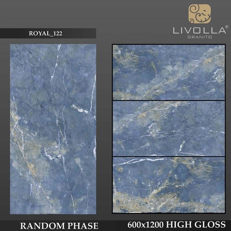 ROYAL 122 - 600x1200(60x120) HIGH GLOSSY PORCELAIN TILE