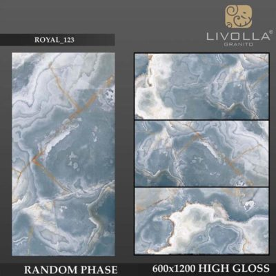 ROYAL 123 - 600x1200(60x120) HIGH GLOSSY PORCELAIN TILE
