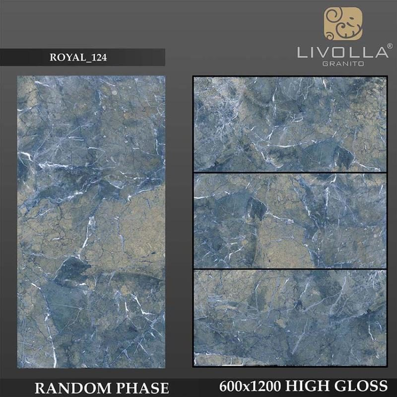 ROYAL 124 - 600x1200(60x120) HIGH GLOSSY PORCELAIN TILE