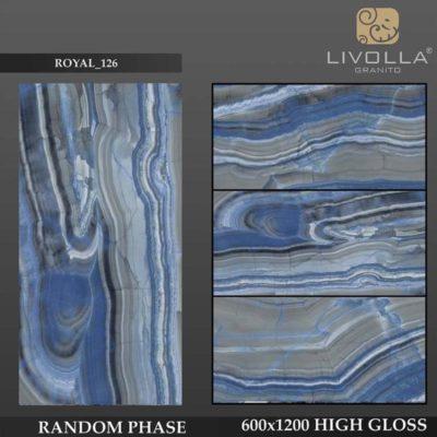 ROYAL 126 - 600x1200(60x120) HIGH GLOSSY PORCELAIN TILE