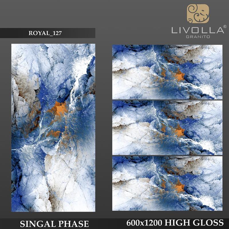 ROYAL 127 - 600x1200(60x120) HIGH GLOSSY PORCELAIN TILE