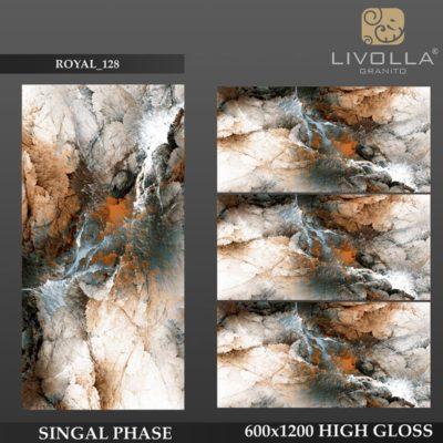 ROYAL 128 - 600x1200(60x120) HIGH GLOSSY PORCELAIN TILE