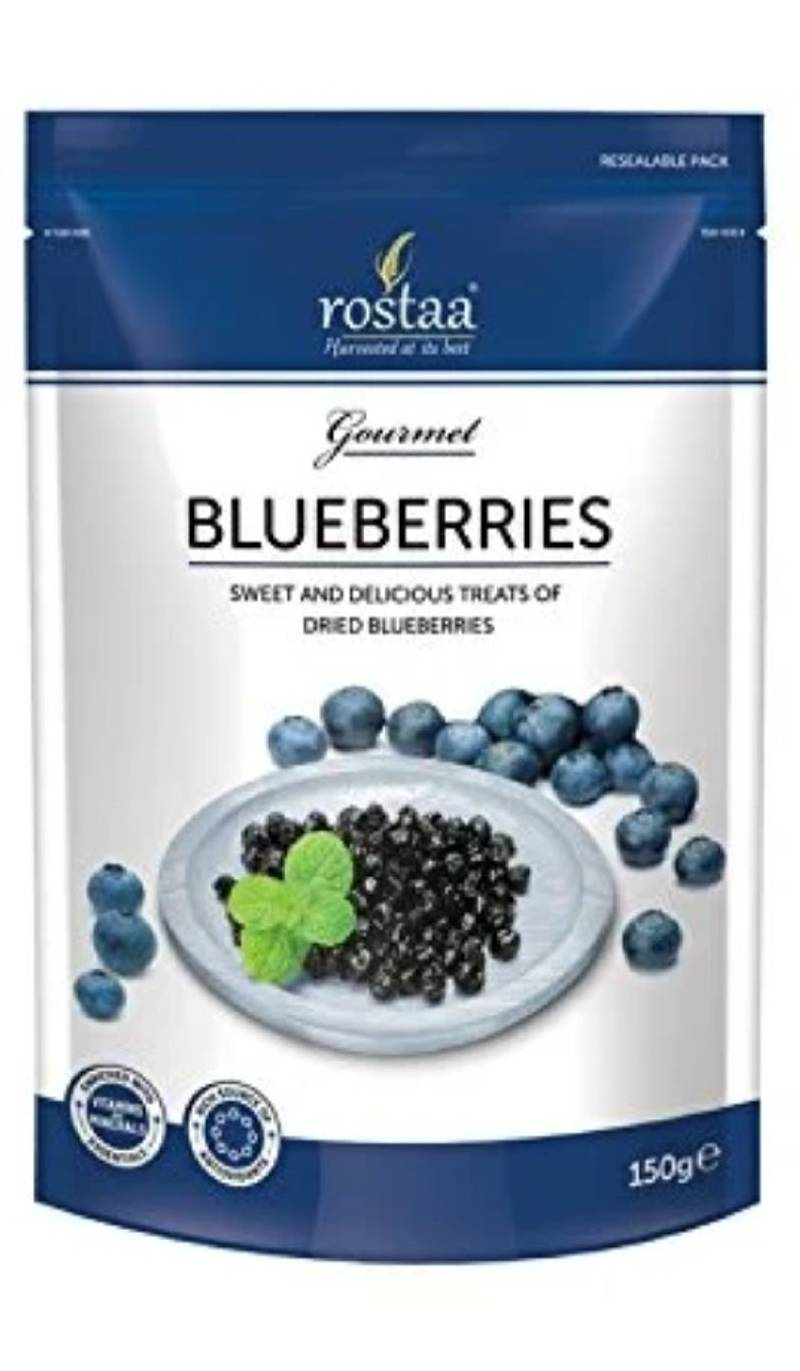 Rostaa Premium Blueberry Sweet and Delicious, 150g