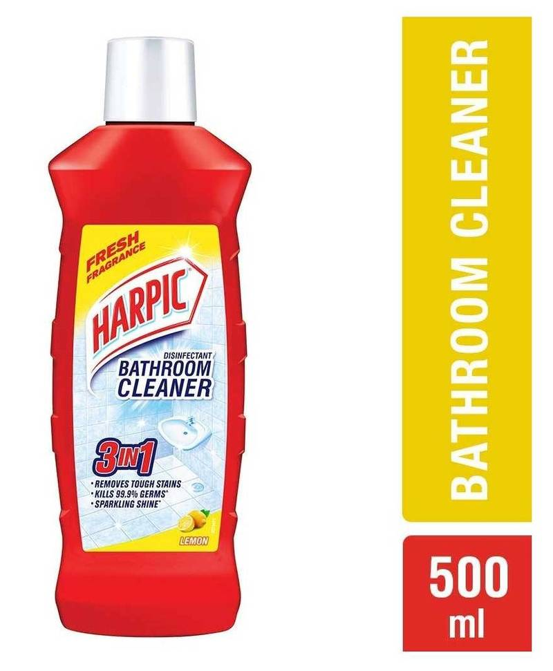 Harpic - Bathroom Cleaner Lemon, 500ml