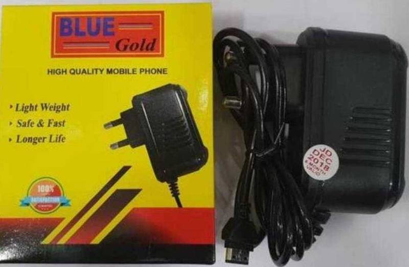 Blue gold mobile charger