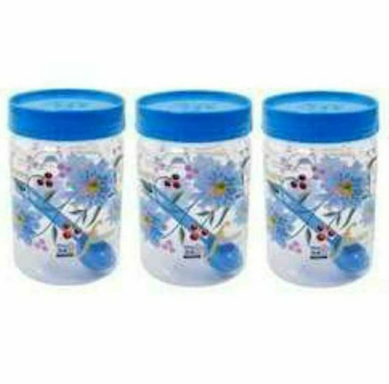 Small Plastic Container Set/Dabba Set, 3 Pieces