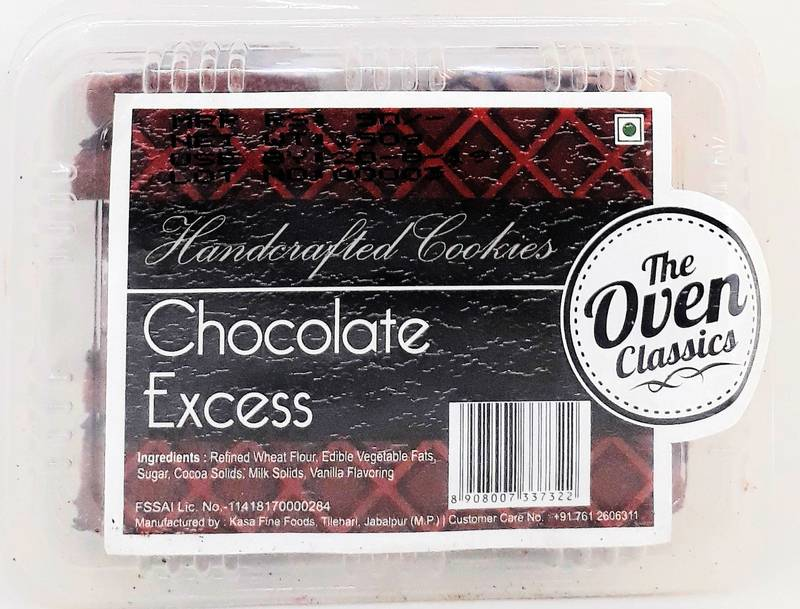 Chocolate Excess Cookies 150gm
