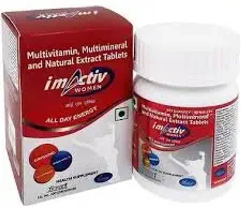 IMACTIV WOMAN (30 * 1TABLETS)