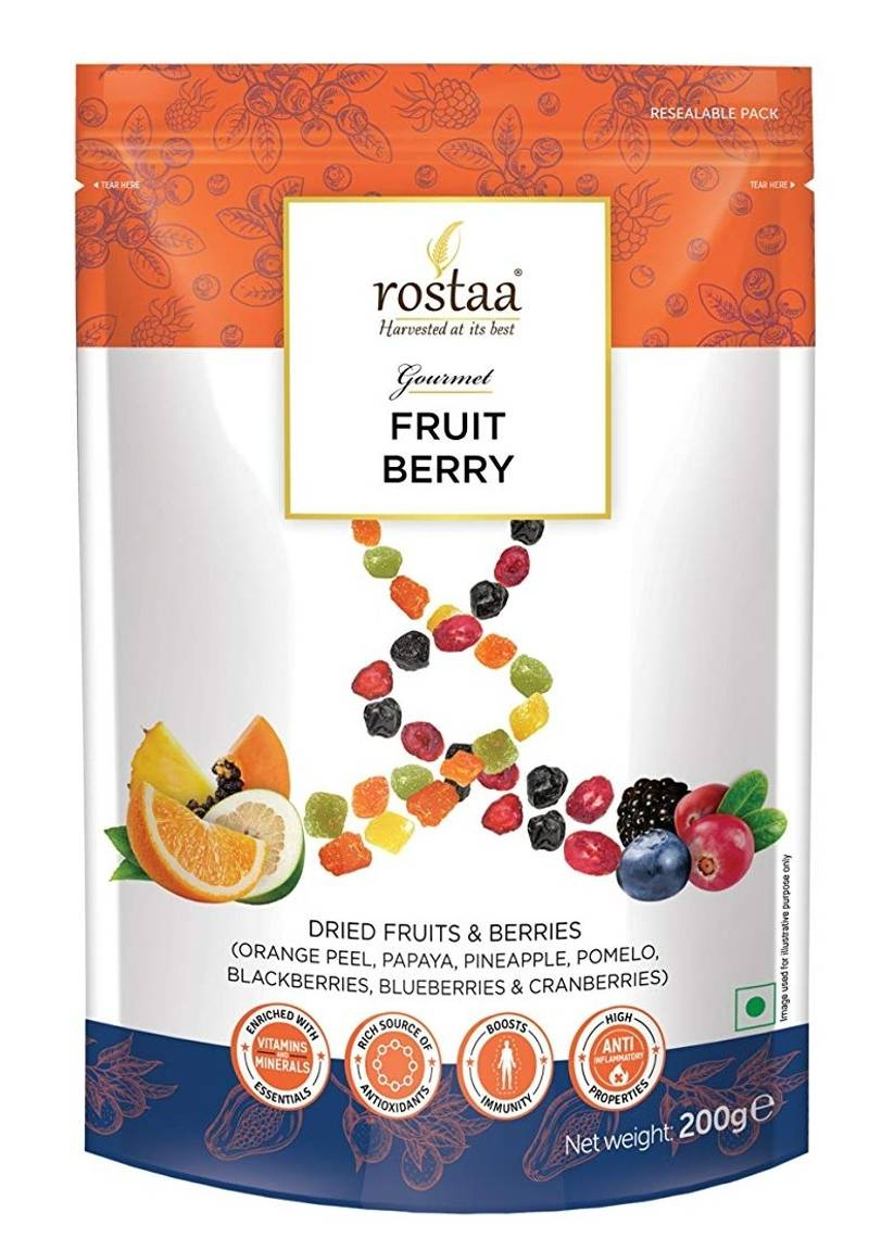 Rostaa Fruit Berry Fusion 200gm