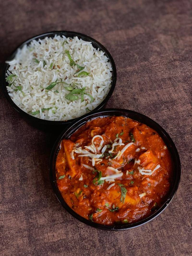 Rice + Chilly Paneer Combo