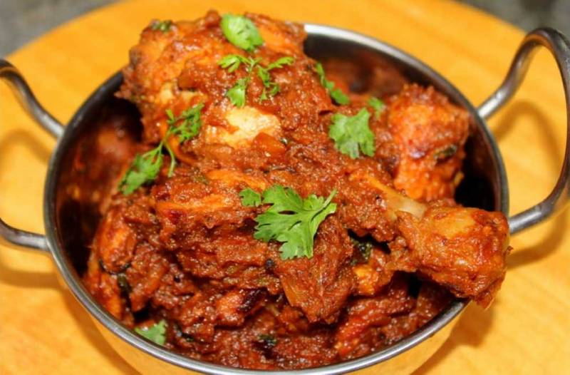 Chicken Masala, Full Plate