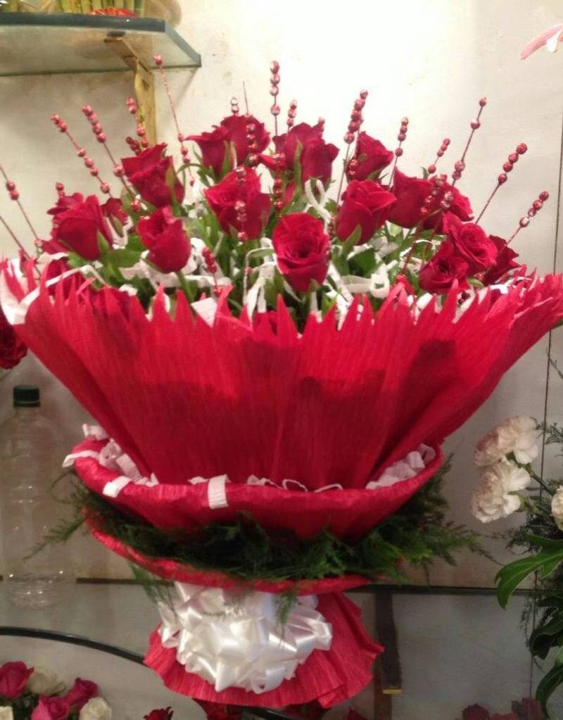 Red Roses Bouquet For Special One