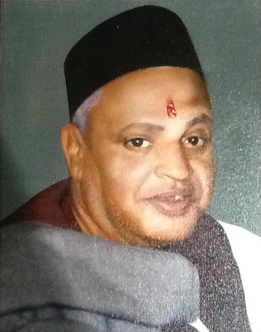 Portrait of Lalaji